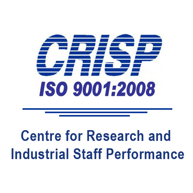 Centre for Research and Industrial Staff Performance, (CRISP) client of Chaster IT Solutions Pvt. Ltd.